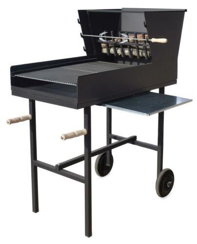 Assado Rotisserie BBQ with Rotisserie  sliding table