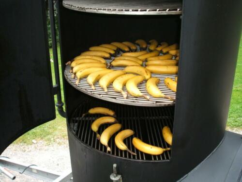 Food früchte und fleisch bananen